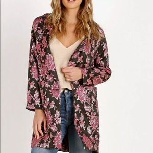 For love and lemons floral blazer